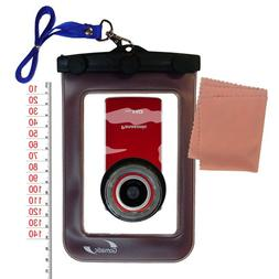 Waterproof Case for Panasonic HM-TA1R Digital HD Camcorder