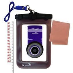 Waterproof Case for Panasonic HM-TA1V Digital HD Camcorder