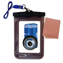 Waterproof Case for Philips CAM100 HD Camcorder