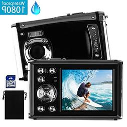 DECOMEN Waterproof Digital Camera Underwater Sport Camcorder