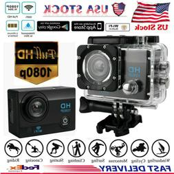 Waterproof Wifi 1080P 4K Ultra HD Sport Action Camera DVR DV