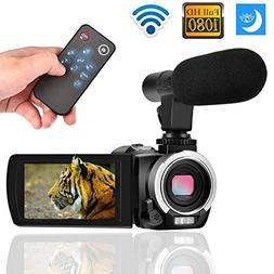 wifi camcorder 30fps zoom
