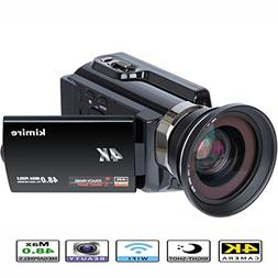 4K Camera WIFI Camcorder Kimire Ultra HD Digital Video Camer