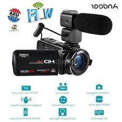 "WiFi FULL HD 1080P 24MP 16X ZOOM LED 3"" LCD Digital Video Ca"