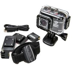 Gaoki X-Game Waterproof Sports HD Camera 1080p 12mp 60m Wate