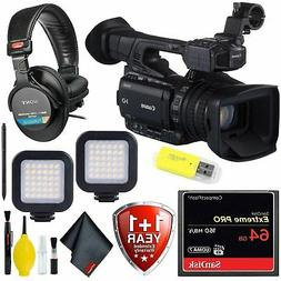 Canon XF205 HD Camcorder + 64 GB Extreme Pro CF Card Profess
